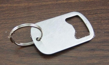 DHL Free 100pcs/lot Mini Gourd Shaped Stainless Steel Beer Bottle Opener Keychain keyring opener