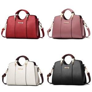Image 2 - Luxury Handbags Women Bags Designer Shoulder Bag Crossbody Fashion Female Bags Ladies Handbag Leather Waterproof Messenger Bag