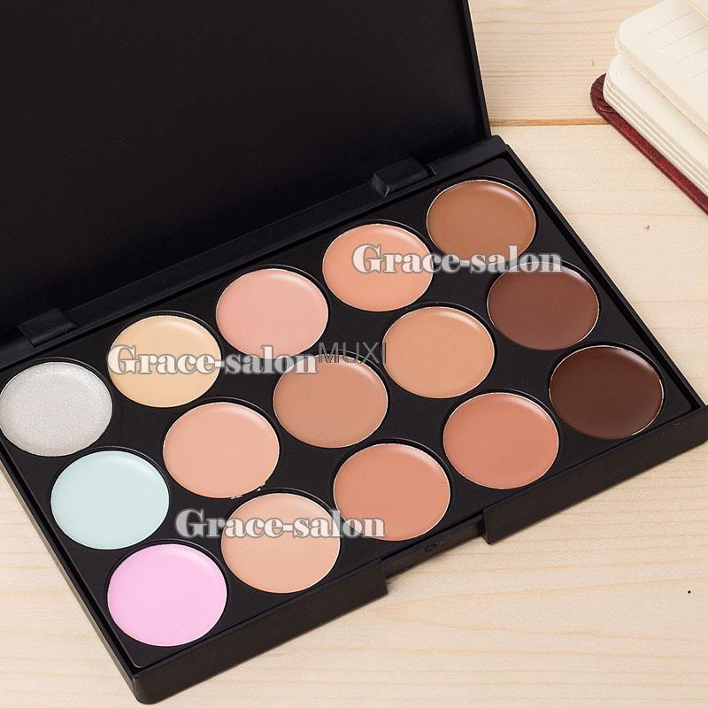 Консилер для макияжа с 15 видов цветов, матовые натуральные нейтральные нюдовые оттенки, контур лица, Смоки|face|makeupsmokey - AliExpress
