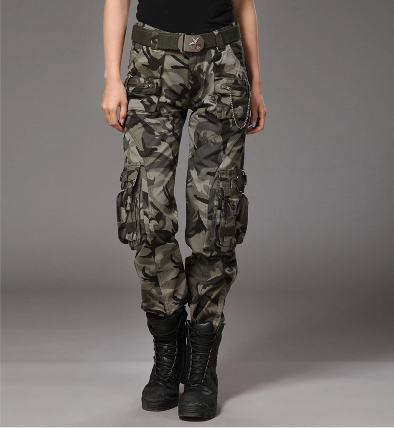 new green camouflage cargo army fatigue