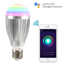 Smart Bulb E27 WiFi Light Compatible With Google Home&Alexa RGBW Color Changing Mood Controlled By APP
