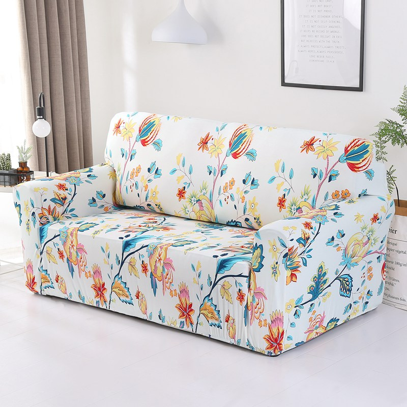 Elastic Stretch Slipcovers Sofa
