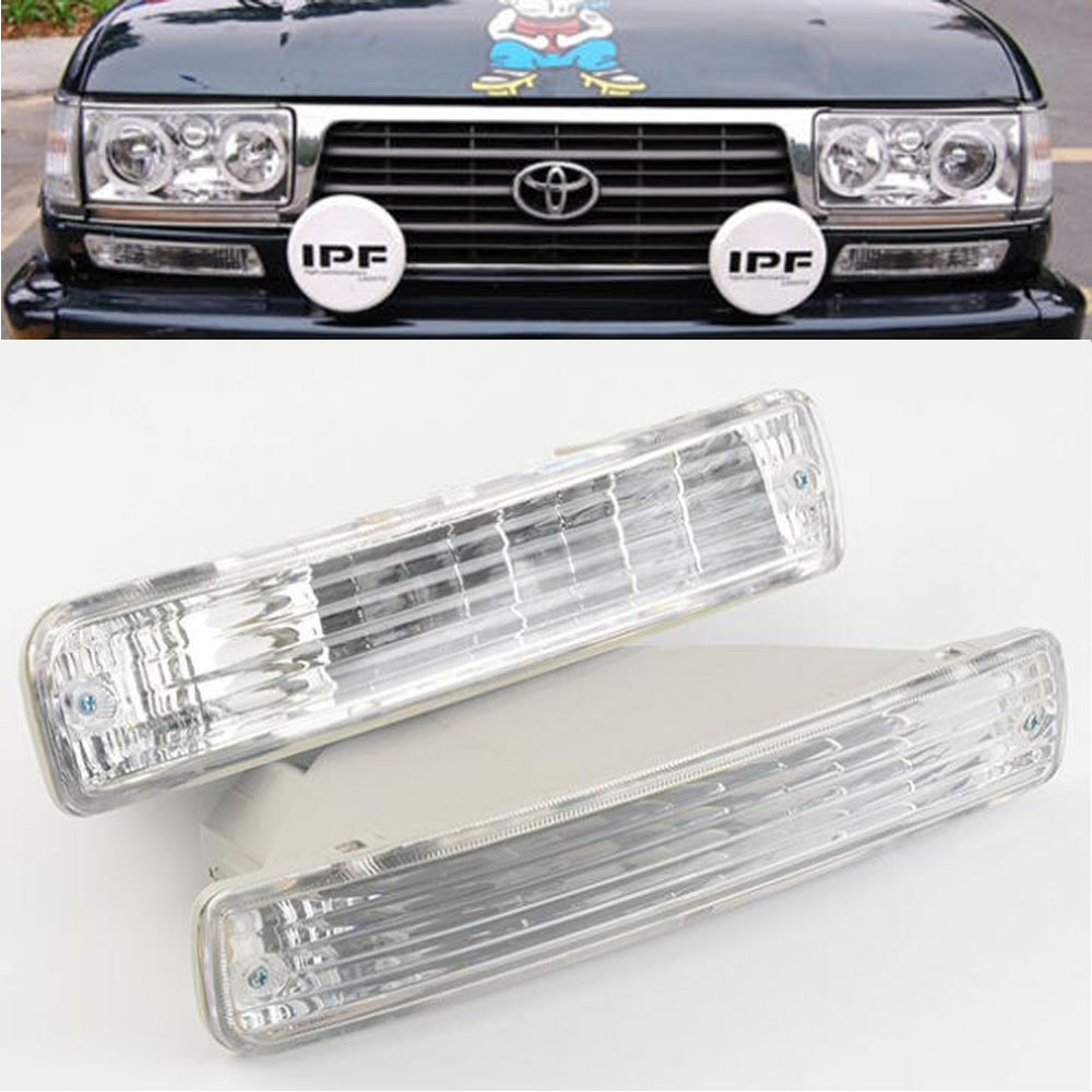 Front Bumper Turn Signal Light 81521-60251 For TOYOTA LAND CRUISER 80  Series 1991 1992-1998 LC80 FJ80 FZJ80 HDJ80 HZJ80 4500