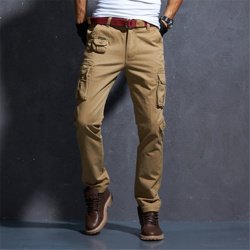 Male amouflage tactical Fashion pants War Game Cargo Casual pants mens high quality trousers Army military Active Cotton Pants