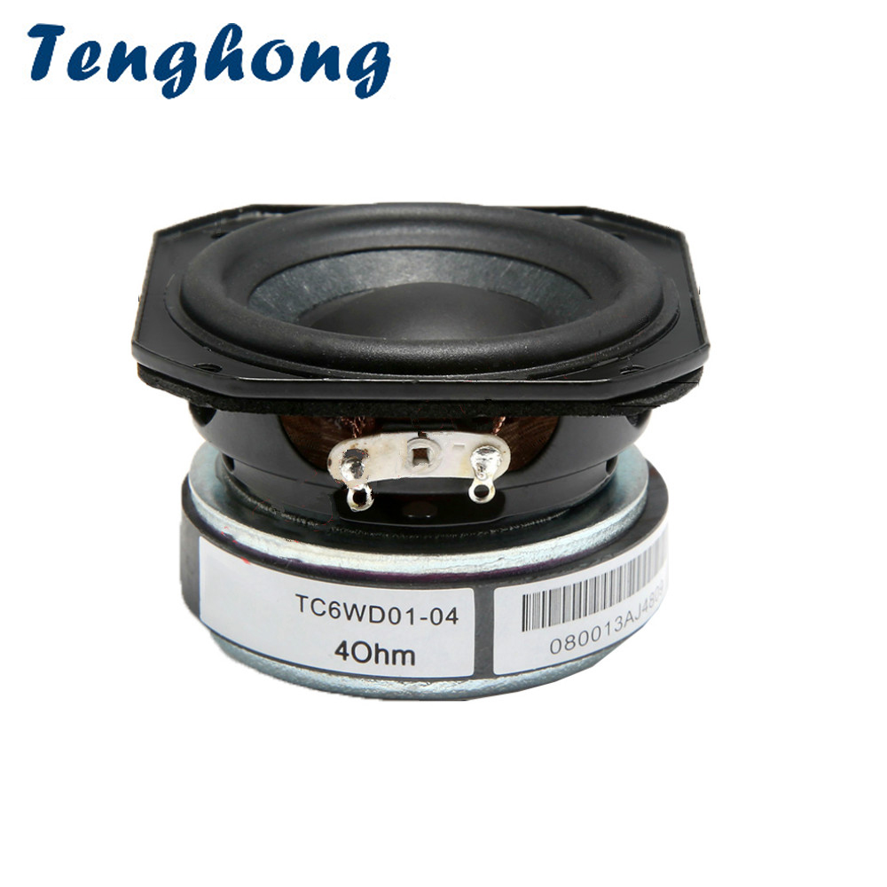 Tenghong Full-Range Speaker 2inch Portable Home Theater 4ohm 1 20W 1pcs Treble