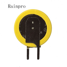 Rainpro 2 ชิ้น/ล็อต ML1220 1220 บัดกรีเท้าแบบชาร์จไฟ 3V แบตเตอรี่คุณภาพดี