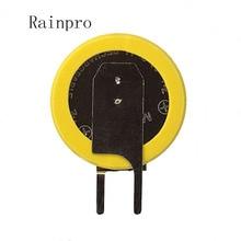 Rainpro 5 יח\חבילה ML1220 1220 הלחמה רגל נטענת 3V סוללה באיכות טובה