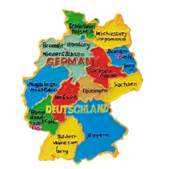 US $7.59 |Handmade Painted German Topographic Map 3D Fridge Magnets on iran map, greece map, memel map, new zealand map, germany map, essen map, turkey map, berlin map, luxembourg map, morocco map, estonia map, albania map, saarbrucken map, oder map, rhineland map, tunisia map, trieste map, japan map, northern epirus map, poland map,