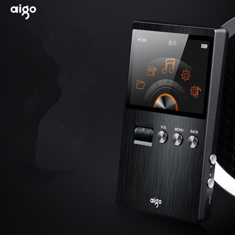 ASD Aigo M6 DSD64 32 г Портативный аудио Hifi без потерь Музыкальный плеер Высокое качество Мини Спорт MP3 плеер может воспроизводить 60 час черный