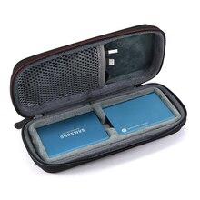 Nieuwe Houdt 2 STUKS Hard EVA Draagtas voor Samsung T5/T3/T1 Draagbare SSD 250 GB 500 GB 1 TB 2 TB USB 3.1 Externe Solid State Drives