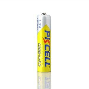 Image 4 - 2 ピース/ロット Pkcell 高エネルギー 1.2 V 1000 mah のニッケル水素 AAA 充電式バッテリーニッケル水素 3A 電池 Battria