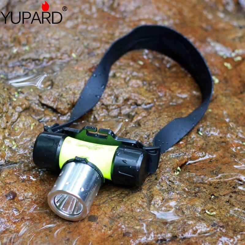 YUPARD Unterwasser 1000 Lumen XM-L XML T6 Scheinwerfer helle LED Wasserdicht 60 mSwimming Tauchen Scheinwerfer Dive Kopf Licht Taschenlampe Lampe