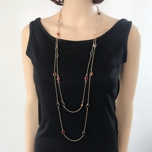 Free Shipping Mixed Color Sweet Cute Necklace