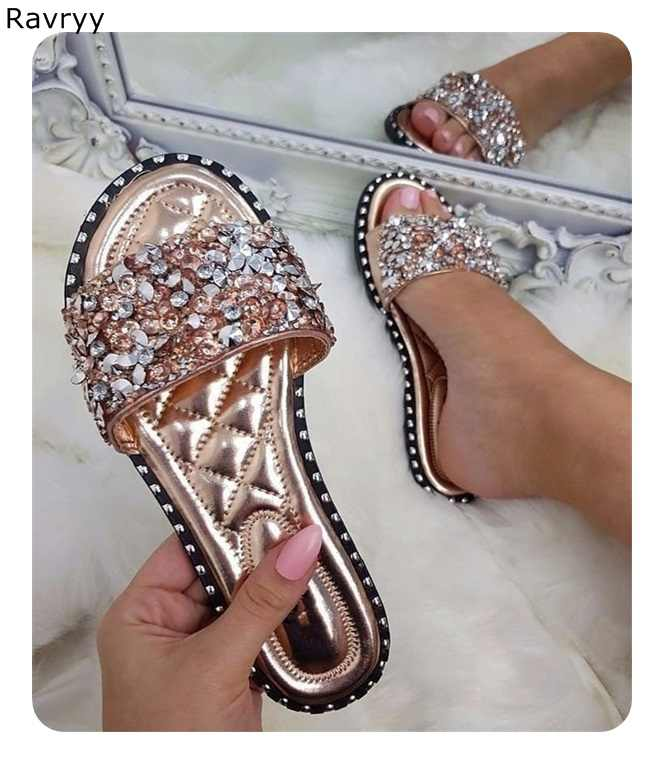 2d00f36bcd4 Detail Feedback Questions about 2018 Brand Summer Shoes Woman Rivet ...