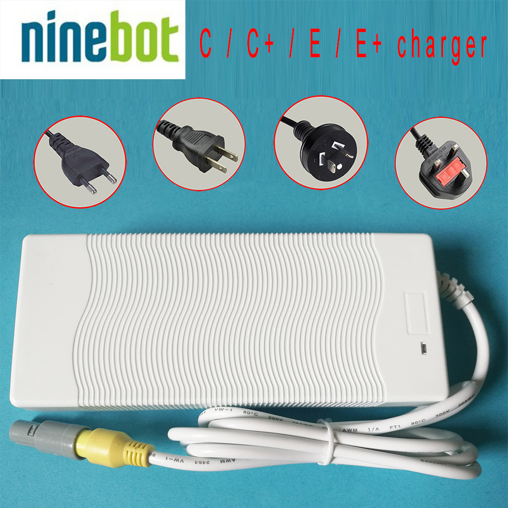 original Ninebot One C C+ E E+ electric unicycle charger unicycle accessory 120W 61V charger international version