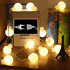 5m 20 Leds 5cm Big Ball LED String Light Lamps New Year Christmas Decoration Wedding Party