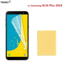 Clear LCD Screen Protector for Samsung Galaxy J6 Plus 2018 Protective Film for Samsung J6 Plus 2018 Screen Protector Film Foil pudini protective clear screen protector film guard for samsung galaxy express i8730 transparent