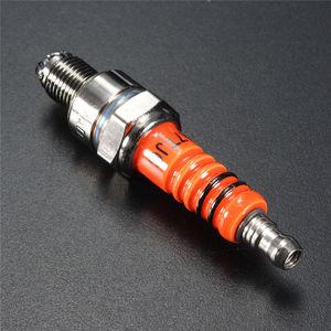 Image 2 - Scooter gy6 50cc 150cc alto desempenho 3 eletrodo spark plug rep c7ha c7hsa