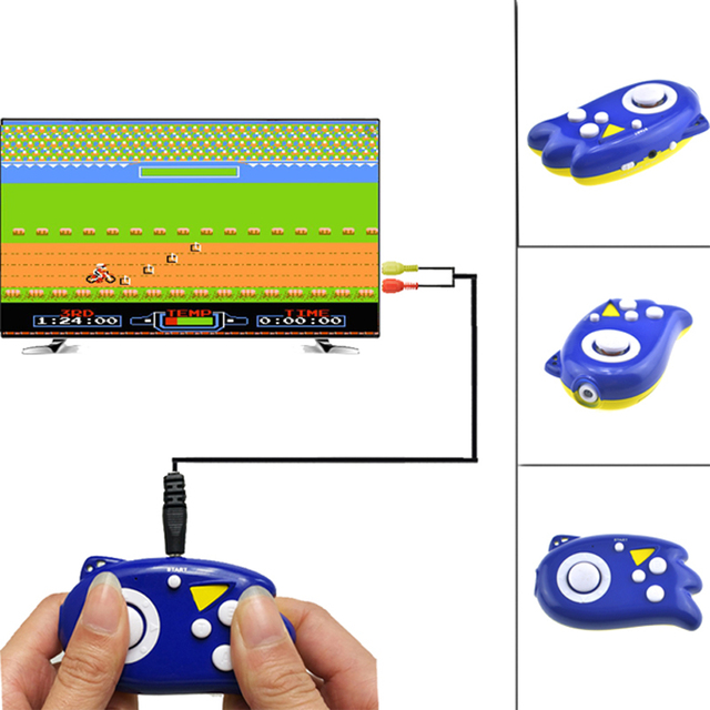 8Bit Mini Video Handheld Game Console Classic Games TV Output Plug Player