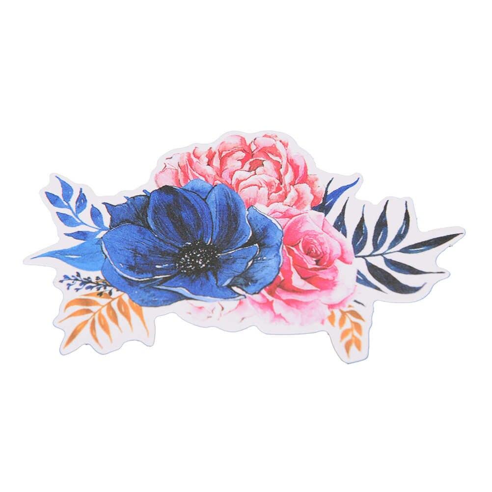 حزمة DIY الألبوم سكرابوكينغ مذكرات لاصقة تزيين DIY متعددة اللون الزهور الهواء الساخن الكرة ورقة ملصق 20 قطعة/المجموعة