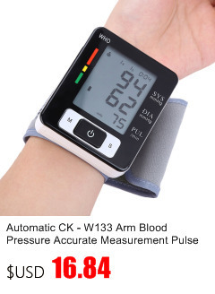 Gustala Automatic Digital Sphygmomanometer Wrist Cuff Arm Blood Pressure Monitor Meter Gauge Measure Portable Bracelet Device 10
