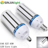 E40 E27 65W LED Corn Light SMD5730 LED Lamp Corn Bulbs Spotlight Chandelier Lighting Lampada Outdoor Industrial Lights AC85 265V