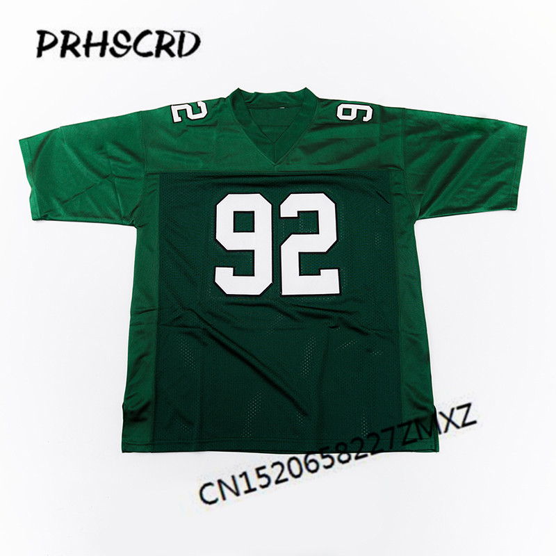 huge selection of 3ff52 d2f28 US $29.99 |Retro star #92 Reggie White Embroidered Throwback Football  Jersey-in America Football Jerseys from Sports & Entertainment on  Aliexpress.com ...