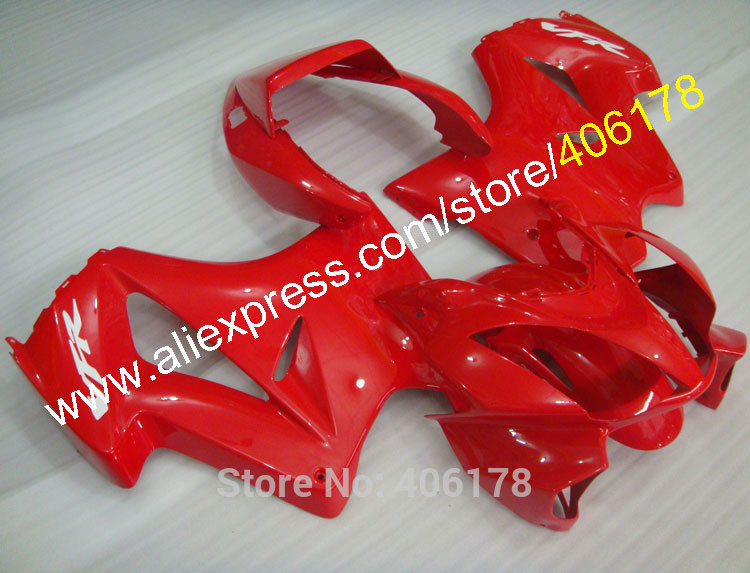 Hot Sales,VFR 800R Fairing Price For Honda VFR800 02-12 VFR800RR VFR 800 2002-2012 Light Red Moto Body Kits (Injection molding)