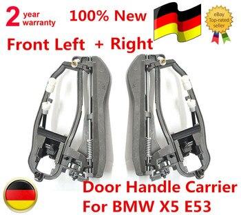 AP03 51218243615, 51218243616 2 x Pcs/1 paire de porte poignée transporteur avant gauche + droite pour BMW X5 E53
