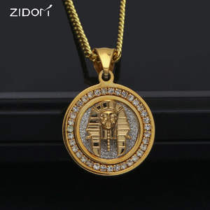 f9276818ab29 ZIDOM Stainless Steel Men pendant necklaces women jewelry
