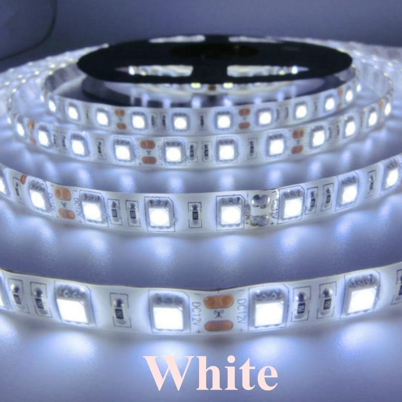Անջրանցիկ 60Leds 5050SMD Led Strip ճկուն թեթև IP65 - LED լուսավորություն - Լուսանկար 4