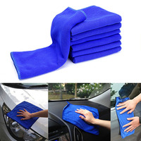 arrival cleaning 30x70CM Car Wash Microfiber Towel Car Cleaning Drying Cloth Absorbent Car Care Cloth Detailing Car Wash Towel New Arrival (1)
