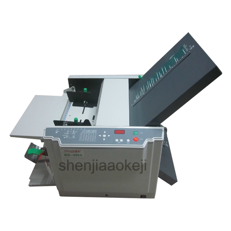Paper Creasing Machine 6 folding types RD298A high speed electric paper fold machine A3 Automatic folding machine creasing part for paper folding machine circuit board for machine