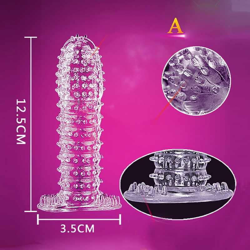 Расширитель презервативов Насадка-презерватив увеличение мужской t Задержка эякуляции вибрирующее кольцо для пениса фаллоимитатор покрытие секс-игрушки для мужчин