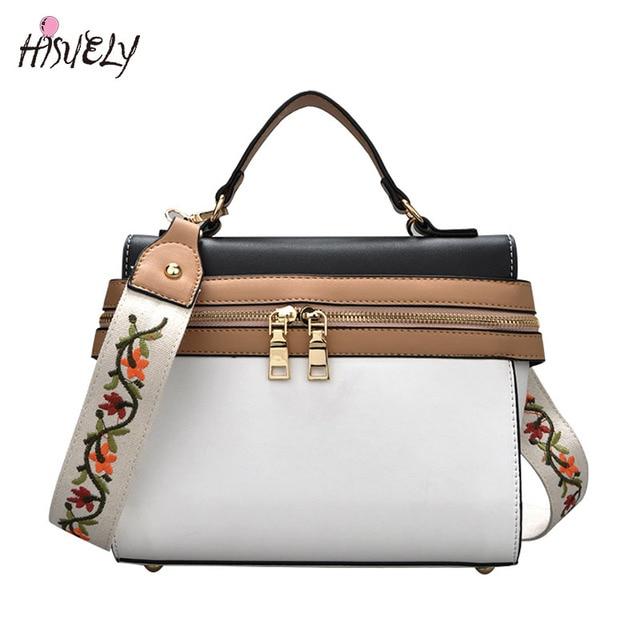 484e589d2d00 Hot sale Bump strip women handbag bag casual ladies women high quality leather  messenger bag small crossbody bag Embroidery
