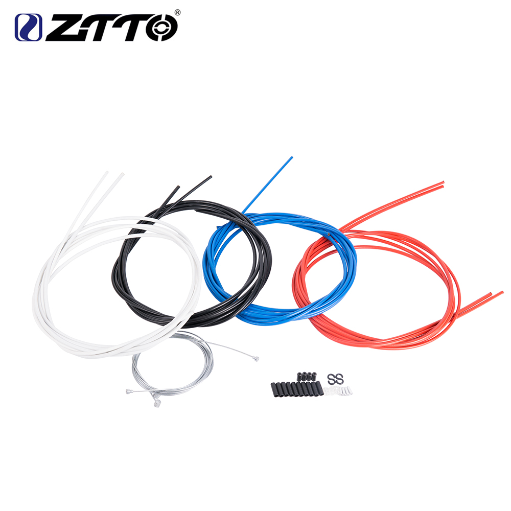 ZTTO Bicycle Brake Hose Wire MTB Mountain Road Bike BMX Control Line Hose Cable Set brake Inner Wire Cable Housing Kit