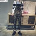 New 2016 Mens Camouflage Fashion Male Cotton Jumpsuit Bib Overalls Jeans Pants Trousers Mens Clothing Plus Size