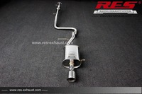 Performance Auto Parts RES Racing For Ford Festiva 1 5T Stainless Steel Exhaust System Exhaust Catback