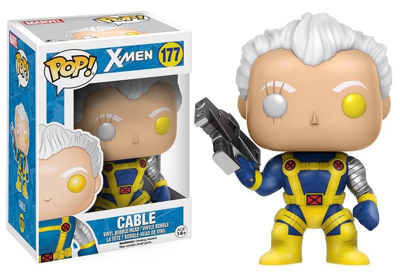 Официальный Funko pop Marvel: X-Men-кабель винил фигурку Коллекционная модель игрушки с оригинальной коробке
