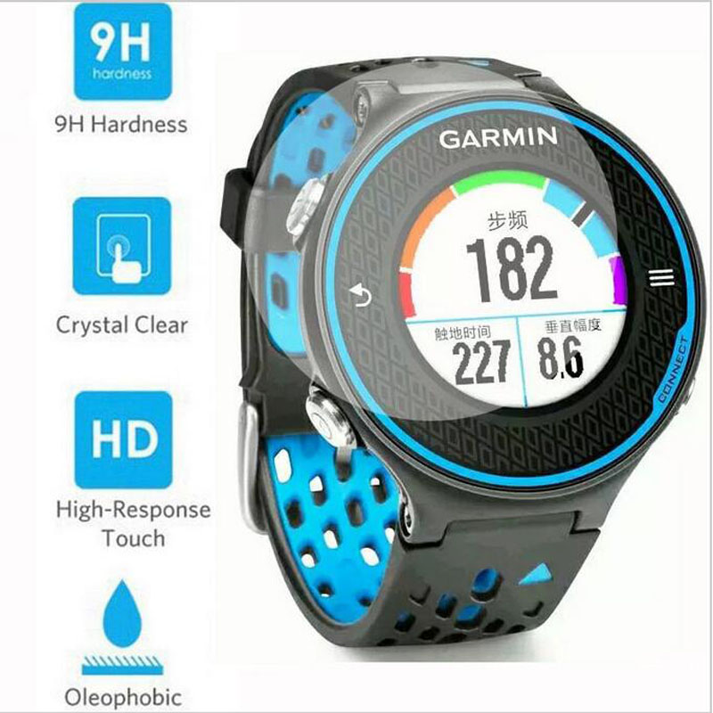 Ultra Clear Tempered Glass Protective Film Guard For Garmin Forerunner 620 Smart Watch Toughened Display Screen Protector Cover