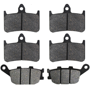 Motorcycle Front and Rear Brake Pads for Honda XL 700 Transalp 2008-2011 CB 600 CB600 Hornet 600 07-12 CBF500 CBF 500 2004-2007 image