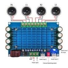 50 واط * 4 TDA7850 سيارة 4 قنوات 12 فولت الطاقة الكبيرة الصوت ACC مضخم رقمي المجلس