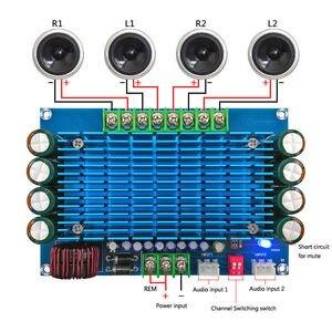 Image 1 - 50W * 4 TDA7850 רכב 4 ערוצים 12V גדול כוח ACC אודיו דיגיטלי מגבר לוח
