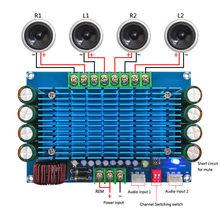 50W *4 TDA7850 Car 4 Channels 12V Large Power Audio ACC Digital Amplifier Board
