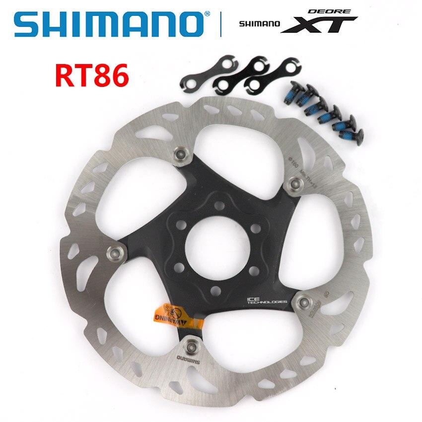 Shimano XT SM-RT86 6-Bolt Disc Brake Mountain Bike Rotor 180mm NEW!