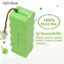 Batterie Rechargeable sous vide 14.4 V 4000 mAh NI-MH 4.0 Ah pour Samsung NaviBot SR8840 SR8845 SR8855 SR8895 VCR8845 VCR889