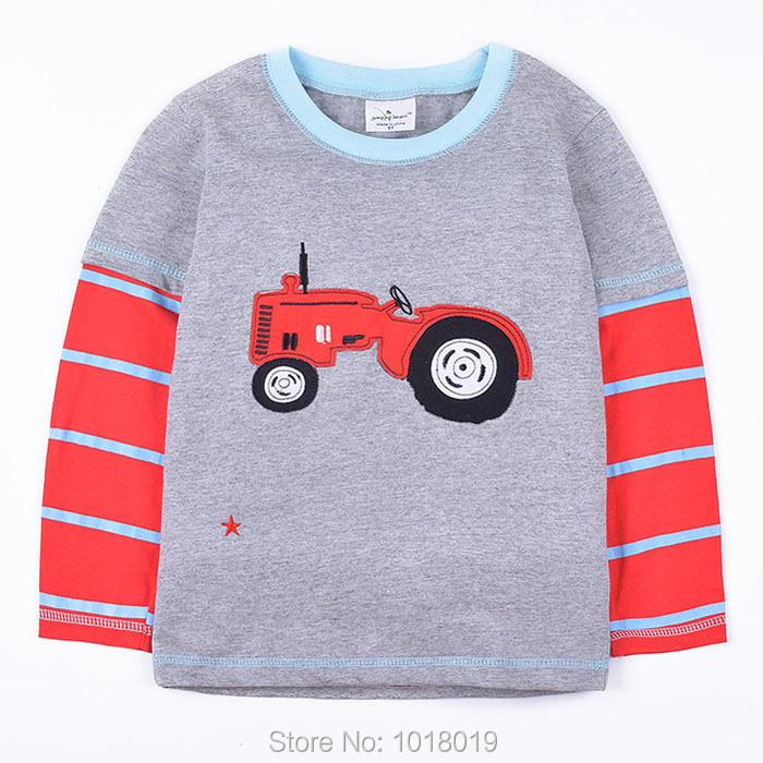 HTB1UB2EOXXXXXc.XXXXq6xXFXXXu - New 2018 Branded 100% Cotton Baby Boys t shirts Kids Clothing Clothes Children Long Sleeve t-shirts Boys Blouse Undershirts Boys