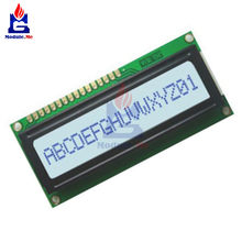 White Backlight 1601 16X1 Character Digital LED LCD Display Module LCM STN SPLC780D KS0066 5V Single Row Interface Board(China)