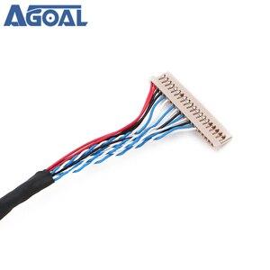 Image 4 - Uniwersalny 1ch 6 bit 20 szpilki kabel LVDS 20pin pojedynczy 6 6 bit dla 12 cal 15 cal panel LCD