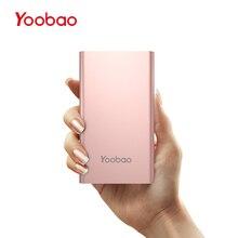 Yoobao PL5 5000 мАч Dual USB Вход внешний Батарея ультра тонкий 9.3 мм Портативный Зарядное устройство литий-полимерный Мобильный телефон Запасные Аккумуляторы для телефонов для LG